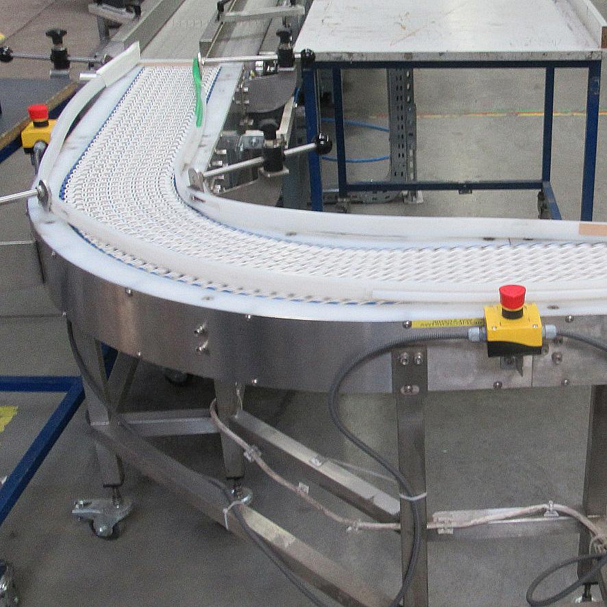 Przenośnik modułowy - systemy transportu wewnętrznego